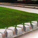 新创意 生态植草betway手机版/高承载植草地面/现浇植草地面